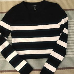 Long sleeve, cropped shirt from Forever 21